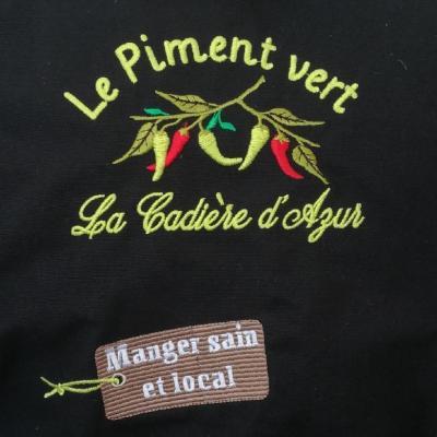 Logo piment vert